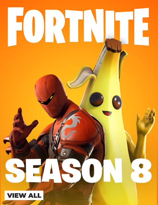 Fortnite Season 8 - Out Now!