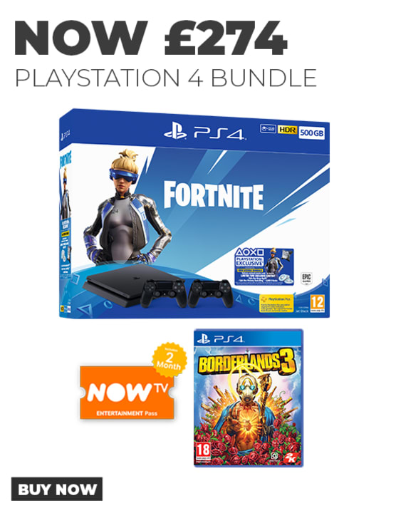 Playstation 4 bundle with Borderlands 3 - Now Available