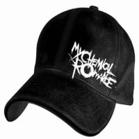 0e7b88220a8 My Chemical Romance Stitched Logo Flexfit Cap