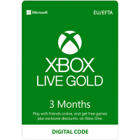Xbox Live Gold Membership and Subscriptions | GAME