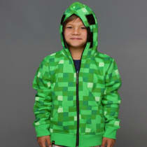 minecraft creeper sweatshirt youth