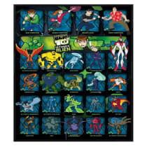 Buy Ben 10 Gloss Black Framed Ultimate Alien Character