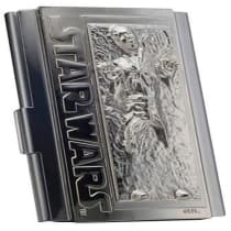 Buy Star Wars Han Solo In Carbonite Business Card Case Free Uk