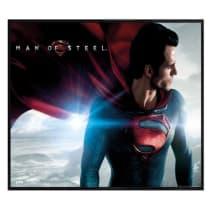 Superman Man Of Steel Gloss Black Framed Flying Superhero Maxi Poster 915x61cm