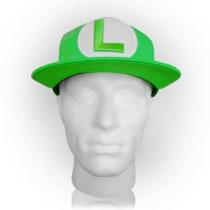 6c17f93fa Buy Nintendo Super Mario Bros. Luigi Symbol Snapback Baseball Cap ...