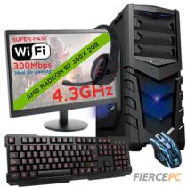 Buy Fierce VENUS Quad-Core Gaming PC Bundle, Athlon X4 860K 4 3GHz