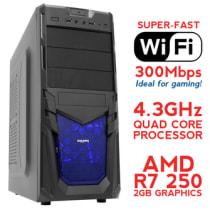 Buy Fierce SATURN Overclocked Quad-Core Gaming PC (Athlon X4 860K
