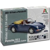 Buy Italeri Porsche Carrera Cabrio 3679 1 24 Model Kit Cars Free