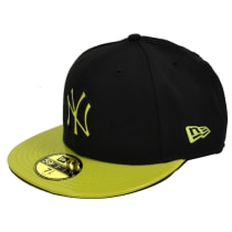 Buy New Era Hats Black Green NY Yankees Cap 59fifty New York Logo Baseball  Cap  403911c619f