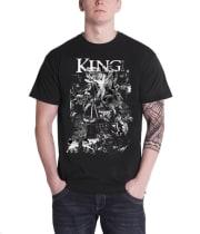 Buy King 810 T Shirt Satanic 810 Band Logo Official Mens New