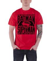3f465fc7 Batman V Superman T Shirt The Gotham Guardian new Official DC Comics Mens  RedSize: M