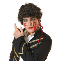 Buy Adam Ant Wig 80s New Romantic Prince Charming Pop Star Fancy
