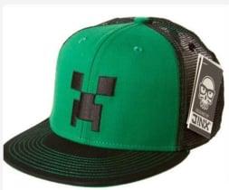 5461ce9e3c7 Buy Minecraft Creeper Mesh Baseball Cap