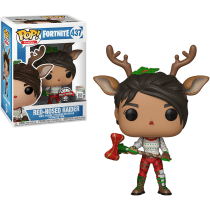 Buy Pop Vinyl Games Fortnite Red Nosed Raider Only At Game