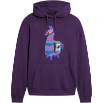 Buy Fortnite Llama Hoodie Purple Xl Only At Game On Clothing And