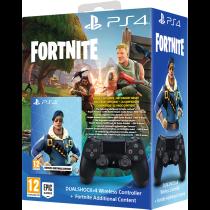Buy Dualshock 4 Black Fortnite Dlc Only At Game On Playstation 4
