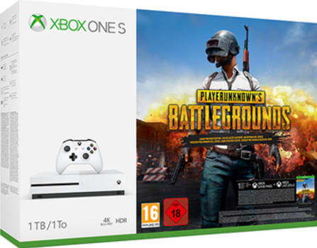 Xbox One S 1TB with PlayerUnknown's Battlegrounds + Fallout 4 + 3 Months Xbox Gold