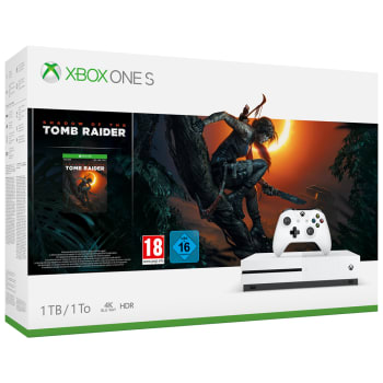 Xbox One S 1TB with Shadow Of The Tomb Raider + FIFA 19 + Forza Horizon 4 Ultimate Edition + NOW TV