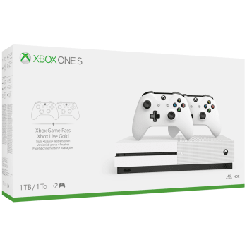 1TB Xbox One S with Extra Controller + FIFA 19 and NOW TV