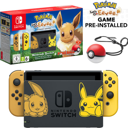 Nintendo Switch Pokémon Let's Go Eevee! Limited Edition Bundle