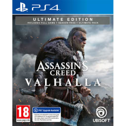 Buy Assassin S Creed Valhalla Ultimate Edition Uk Retail Exclusive On Playstation 4 Game