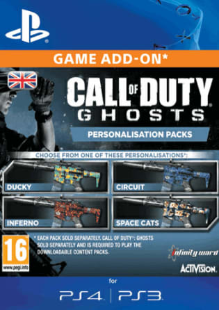 Game Call Of Duty Ghosts Micro Dlc