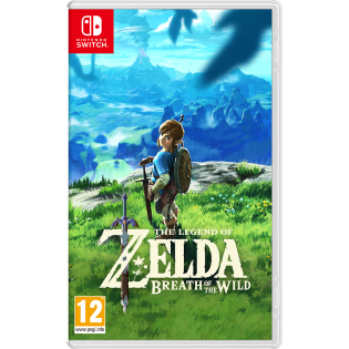 The Legend Of Zelda Breath Of The Wild For Nintendo Game