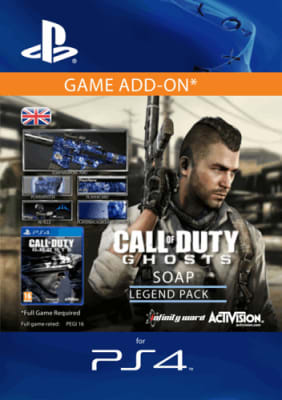 'Call Of Duty: Ghosts - Legend Pack - Soap For Playstation 4
