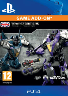 'Transformers: Rise Of The Dark Spark - Weathered Warrior Pack For Playstation 4