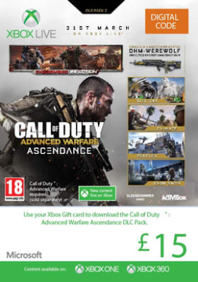 'Call Of Duty: Advanced Warfare Ascendance For Xbox One