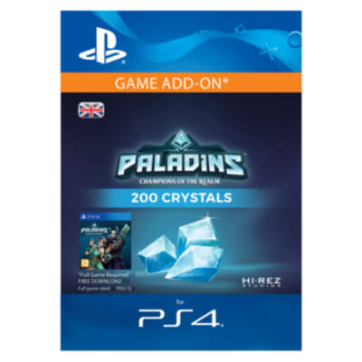 '200 Paladins Crystals For Playstation 4