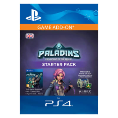 'Paladins Starter Pack For Playstation 4