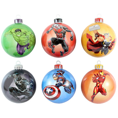 Avengers Baubles for Clothing and Merchandise