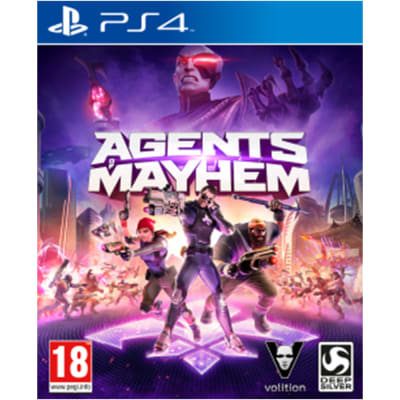 'Agents Of Mayhem For Playstation 4