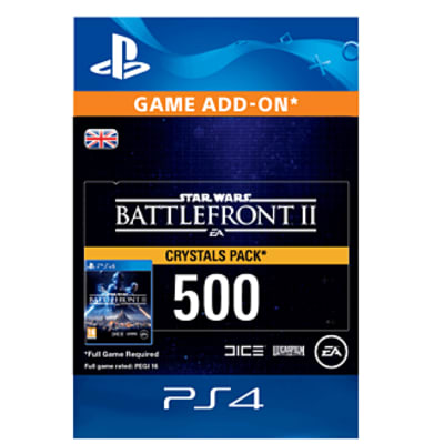 'Star Wars Battlefront Ii 500 Crystals For Playstation 4