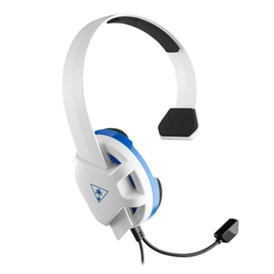 'Turtle Beach Recon Chat - Ps5, Ps4, Xbox, Pc Headset - White For Playstation 4