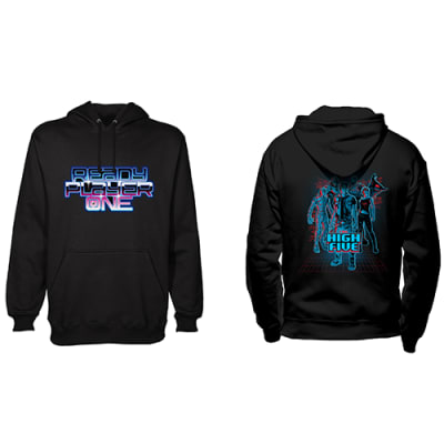 Ready Player One High Five Hoody (XL) for Clothing and Merchandise