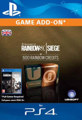 'Tom Clancy's Rainbow Six: Siege 600 Credits Pack For Playstation 4