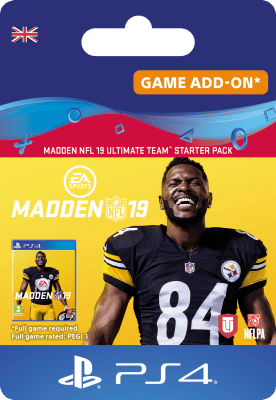 'Madden Nfl 19: Ultimate Team Starter Pack For Playstation 4