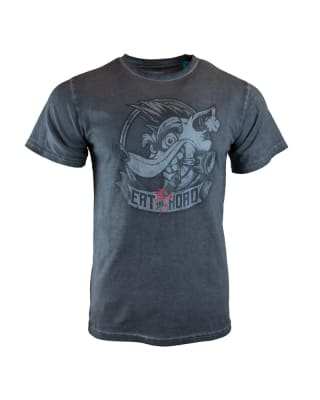 Official Crash Team Racing Nitro-Fueled Eat the Road T-Shirt UK M for Clothing and Merchandise