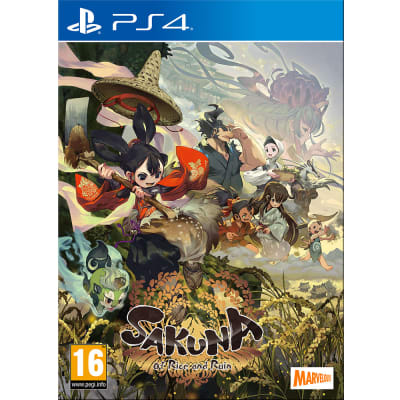 Sakuna: Of Rice and Ruin Golden Harvest Edition for PlayStation 4