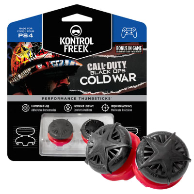 KontrolFreek Call of Duty: Black Ops Cold War Performance Thumbsticks - PS4 for PlayStation 4