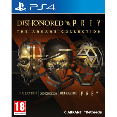 Dishonored and Prey: The Arkane Collection for PlayStation 4