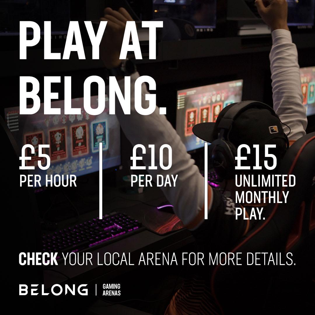Belong arenas closed until further notice