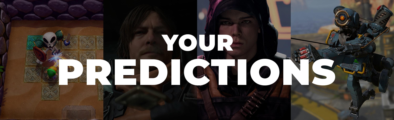BAFTA Game Awards Predictions