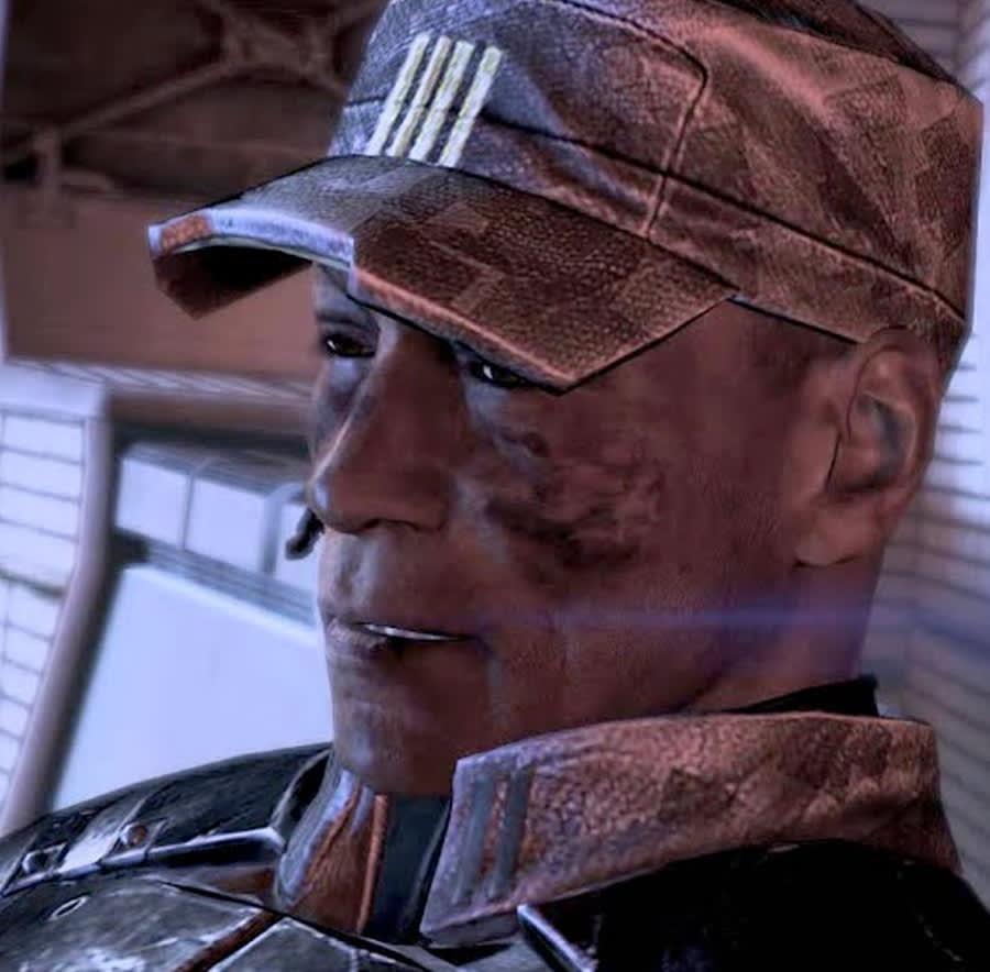 David Anderson from Mass Effect