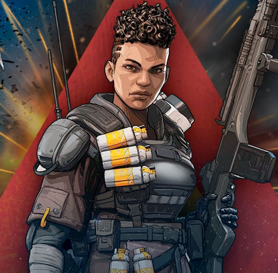 Bangalore from Apex Legends