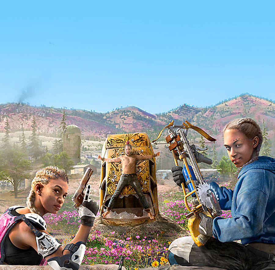 Mickey and Lou from Far Cry New Dawn