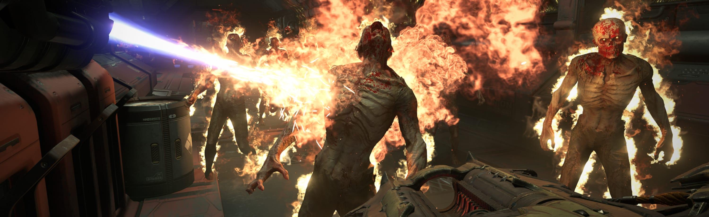 DOOM demon fire