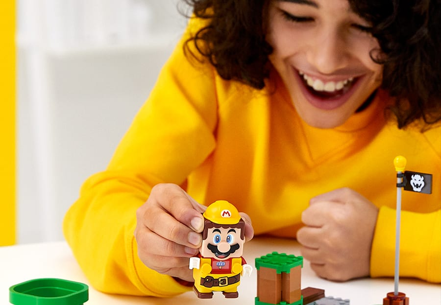 Builder Mario Costume Pack